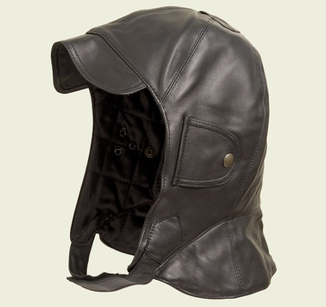 Leather Driving Cap