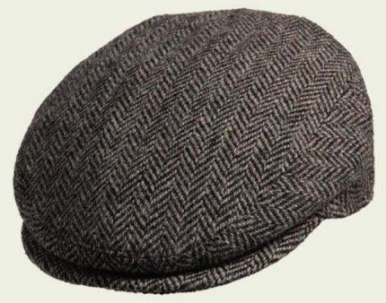 Classic Harris Tweed Cap