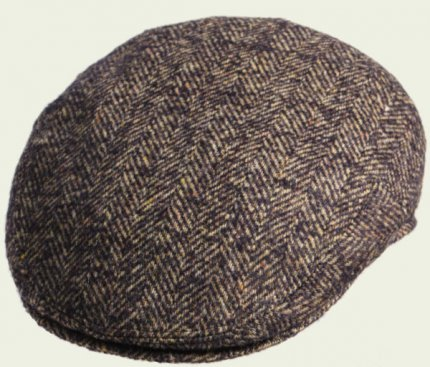 Verbano Herringbone Pocket Cap