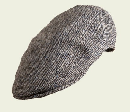 Pocket cap in pure wool