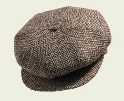 Irish herringbone cap