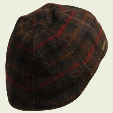 Duckbill Stetson dark brown cap