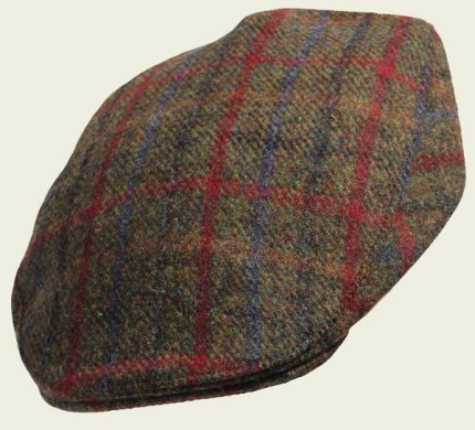Harris Tweed Touring cap