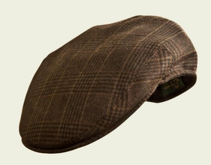 Pocket brown cap