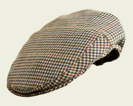 Pocket  houndstooth  cap