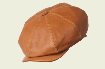 British leather cap