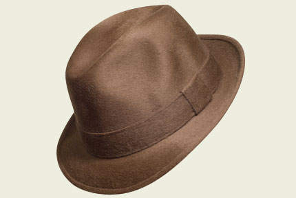 Brown Barbisio Hat