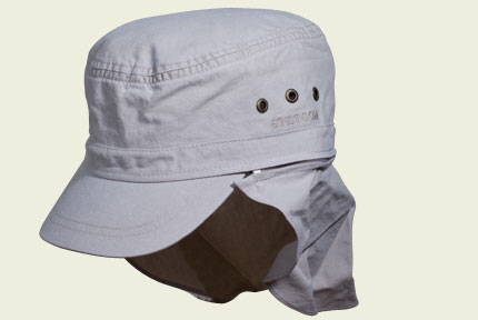Cuban Stetson with back protection