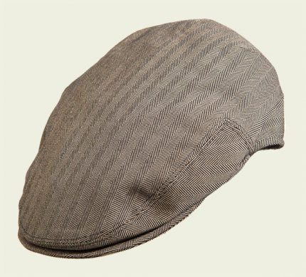 Herringbone pocket cap