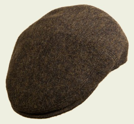 Brown pocket cap