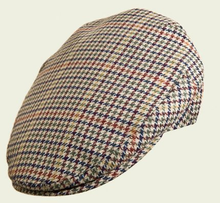 Pied-de-poule English Cap