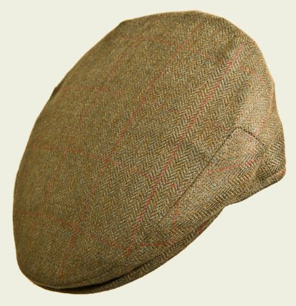Herringbone English Cap