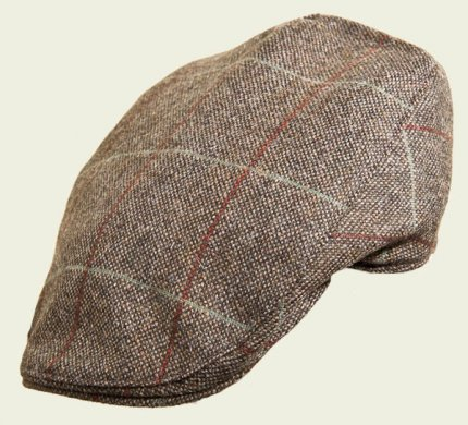 Windowed Touring Tweed Cap
