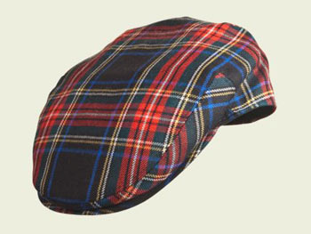 Tartan Scottish Cap