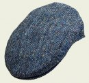 Blue Tweed Cap